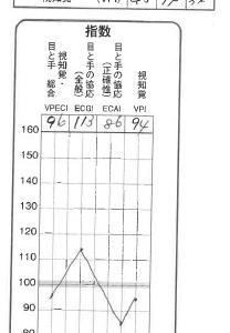 【次男】ビジョントレーニング WAVES 解析編②