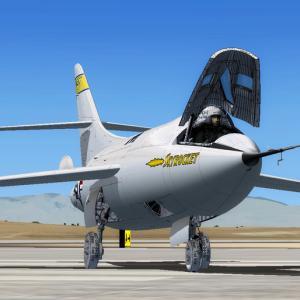 『PCPilot』 に私のFSX XF-103が掲載されました!