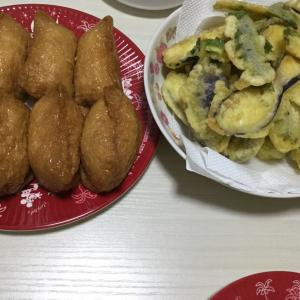 昨日の夕食は〜天ぷら♪