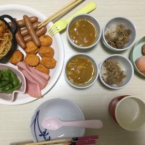 昨日の夕食は〜食べ放題風♪