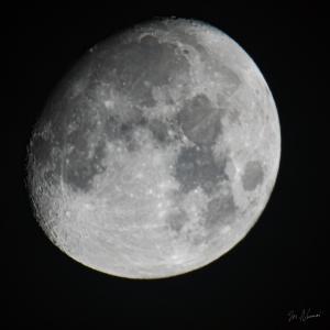 久しぶりの月