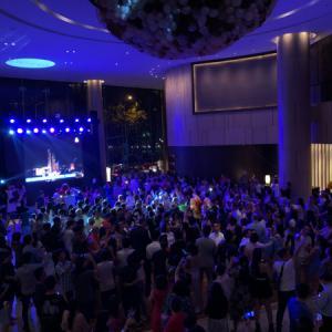 2019-20 年越しベトナム〜ニューワールドサイゴンホテルのカウントダウンパーティー