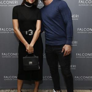 【ジジ・ハディッドの元彼と一緒に…!?】イリーナ・シェイクがファッションイベントに登場!Irina Shayk at Falconeri bash in NYC
