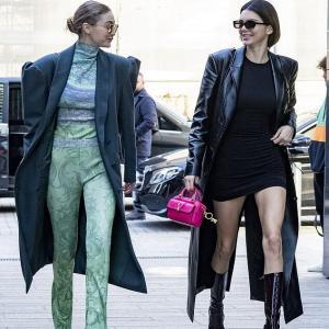 【美脚祭り…!?】ケンダル・ジェンナーとジジ・ハディッドがミラノでお出かけ!Kendall Jenner and Gigi Hadid step out amid Milan Fashion Week