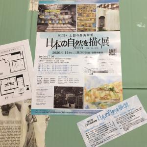 上野の森美術館 日本の自然を描く展に行ってきました