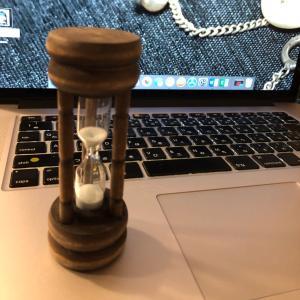 砂時計買ってみました