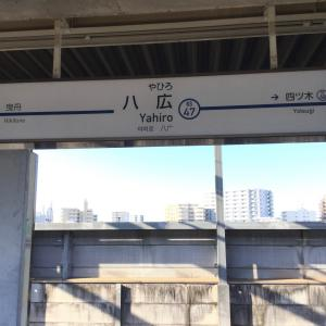 八広駅からカフェパザパへ