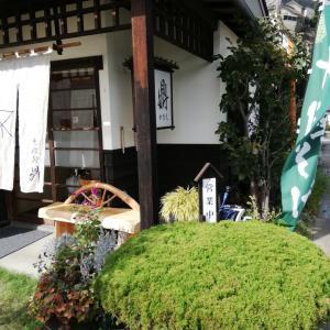 小布施・志賀高原の旅⑥ 鼎さんにてそばランチ