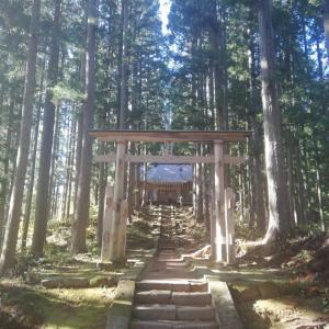 福島(大内宿)日帰り旅③ 大内宿 高倉神社を歩く