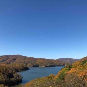 福島(大内宿)日帰り旅⑤ 羽鳥湖を眺める