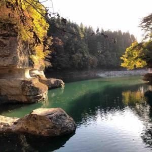福島(大内宿)日帰り旅⑥ 塔のへつり