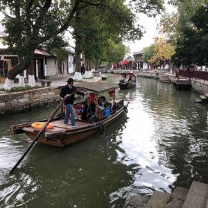 上海観光 水郷古鎮 朱家角を散策①