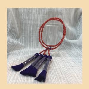 赤珊瑚の念珠・数珠
