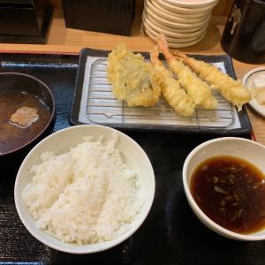 近くの天ぷら屋さんへ行って来ました