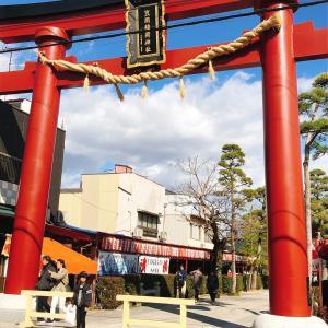 笠間稲荷神社へ行って来ました