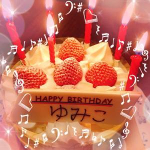 昨日は誕生日でした(^^)