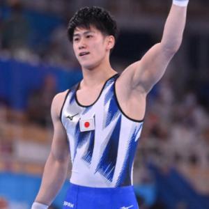 体操種目別・橋本金メダル