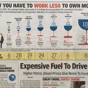 少ない労働時間で多くが手に入る時代