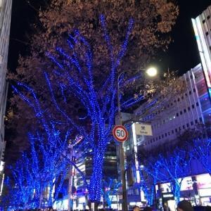 2019年クリスマス☆名古屋で食べ飲みあるきデート