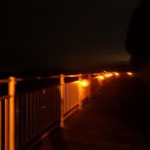恐怖・びん玉ロードの夜★近くに穴場スポットを発見!