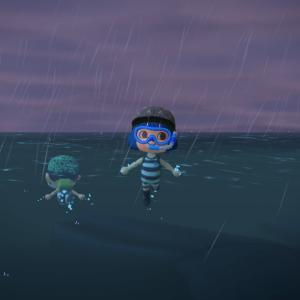 【ゲームブログ更新】「脱獄囚と化した豪雨の海開き」