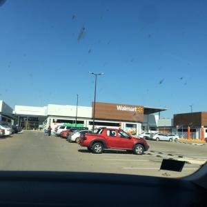 レオン市南端の新しいウォルマートに初めて行ってきた。シャタが、帰ってきた!