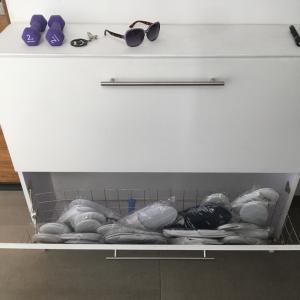 海外では、お宝?使い捨てスリッパ・コレクションで、床拭きスリッパを作ってみた。