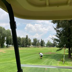 メキシコのコロナも、増えて来ましたが…週末は、ゴルフ。