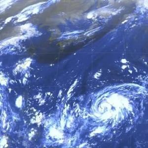 台風16号発生!