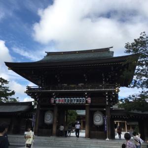 寒川神社で癒された〜