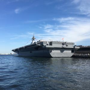 護衛艦観てきた@横浜港