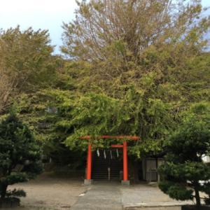 横須賀市追浜の雷神社に行ってみた。