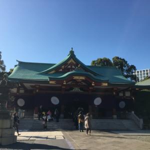 日枝神社に行って来た。