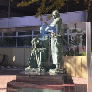 勝海舟さん縁の場所に行ってみた。赤坂。