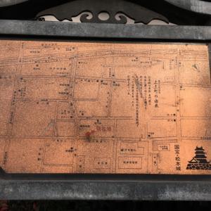 国宝、外から見てきた。松本城