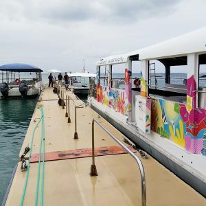 沖縄旅行4日目 グラスボート