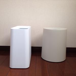 【おうちカフェ計画】ゴミ箱から見えるビニール袋がイヤだイヤだ。→ このおしゃれゴミ箱追加購入。
