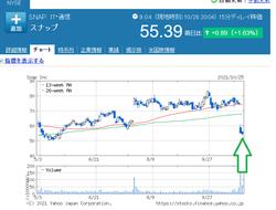 【暴落】1日で27%も下落した、とある株のこと。