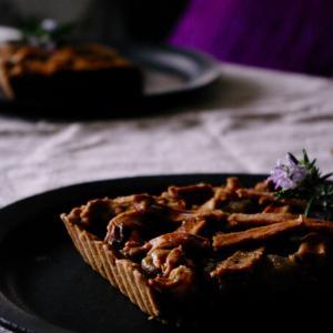 福寿草 と 冬のパイ