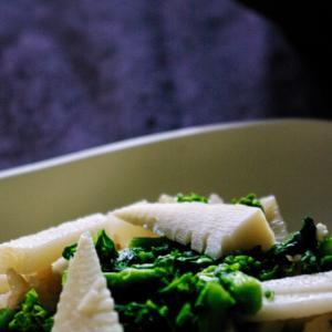 筍と菜の花寿司 蕗の煮物