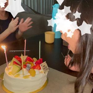 大福娘4歳になりました!!誕生日の記録です