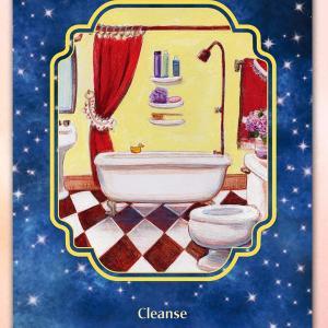 9/14本日のカード(バスルーム)と過ごすコツとアロマ
