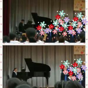 ☆合唱を聴かせていただきました@中学生☆