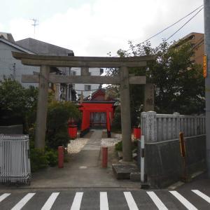 赤手拭稲荷神社 -大阪市浪速区稲荷-