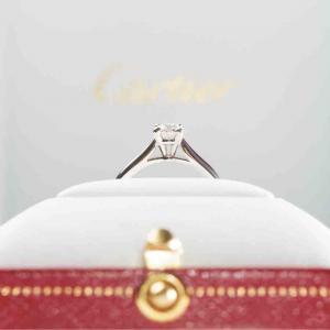 ダイヤの指輪はここ最近の週間なのよ
