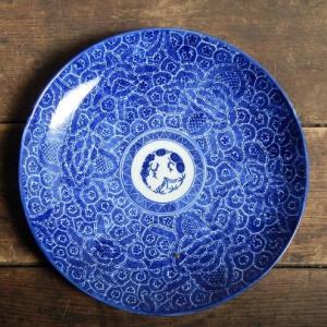 明治期の印判のお皿を買ってみた。