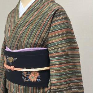 相良刺繍のポイント帯