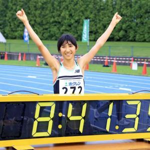 田中希実選手、日本記録更新おめでとうございます~今日はジェットコースターの日