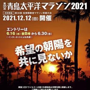 今年も青島太平洋マラソンはエントリー見送り~今日はおにぎりの日