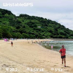 海の日は海で、スポーツの日は運動公園で練習~今日はスポーツの日